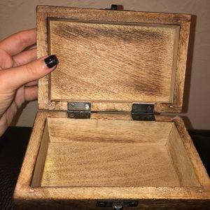 Storage & Organization - antique jewelry box